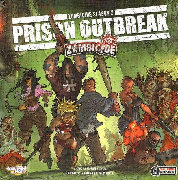Zombicide Prision Outbreak