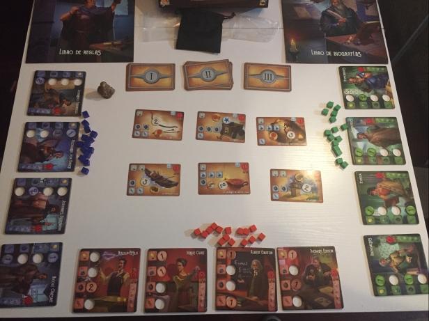 inventores legendarios mesa de juego