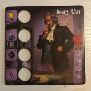 James Watt inventores legendarios
