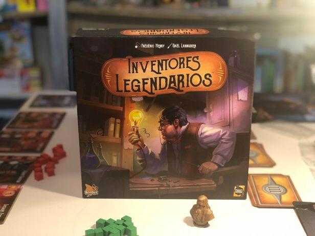 inventores legendarios caja de juego