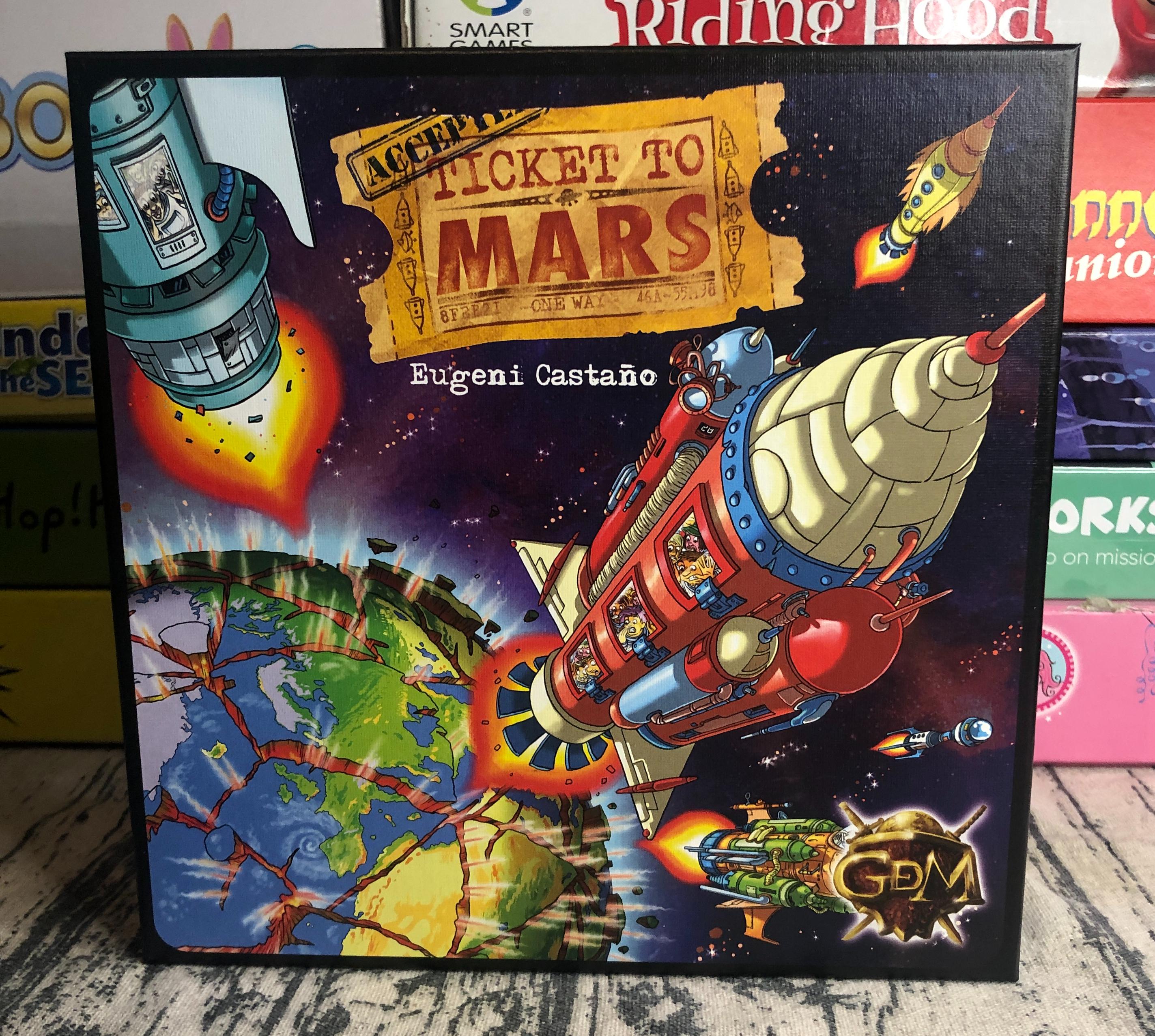Reseña de juego Ticket to Mars GDM