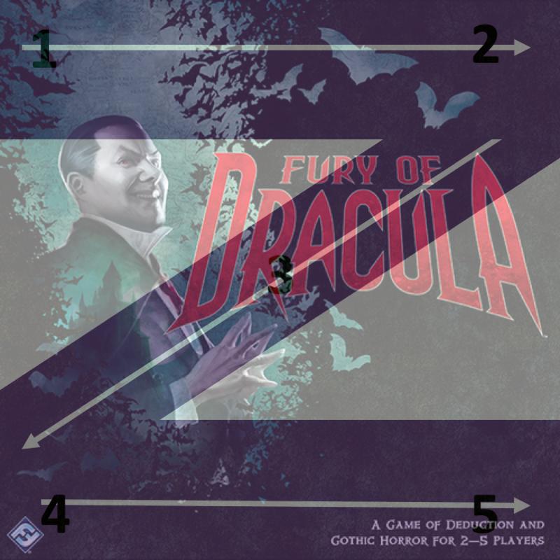 portada furia de drácula diseño en Z