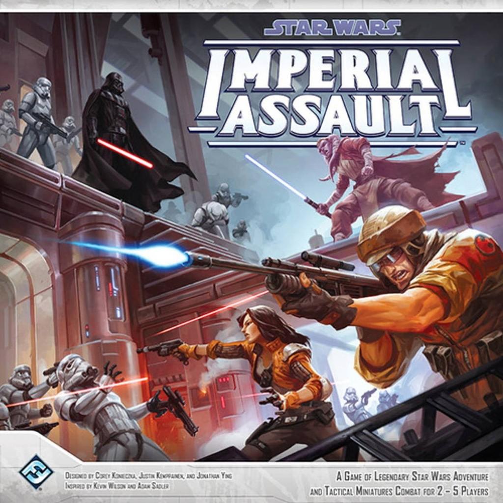 Imperial Assault portada juego de mesa